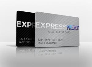 Express NEXT cards promo