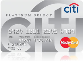 Special fers Citicards