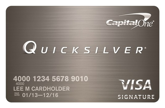 Capital One Quicksilver Rewards Credit Card Review