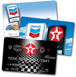chevron gas card balance