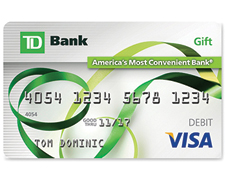 TD Bank Visa Gift Card Review | Banking Sense