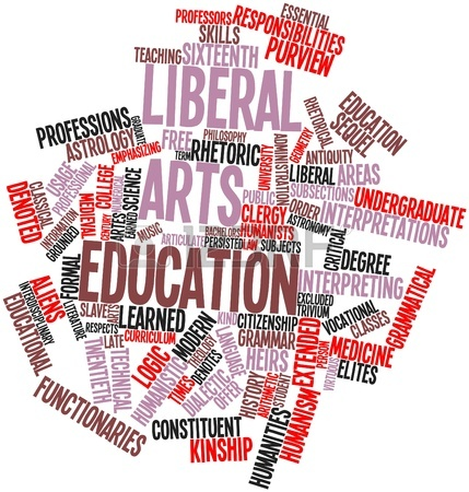 Liberal Arts list of university subjects