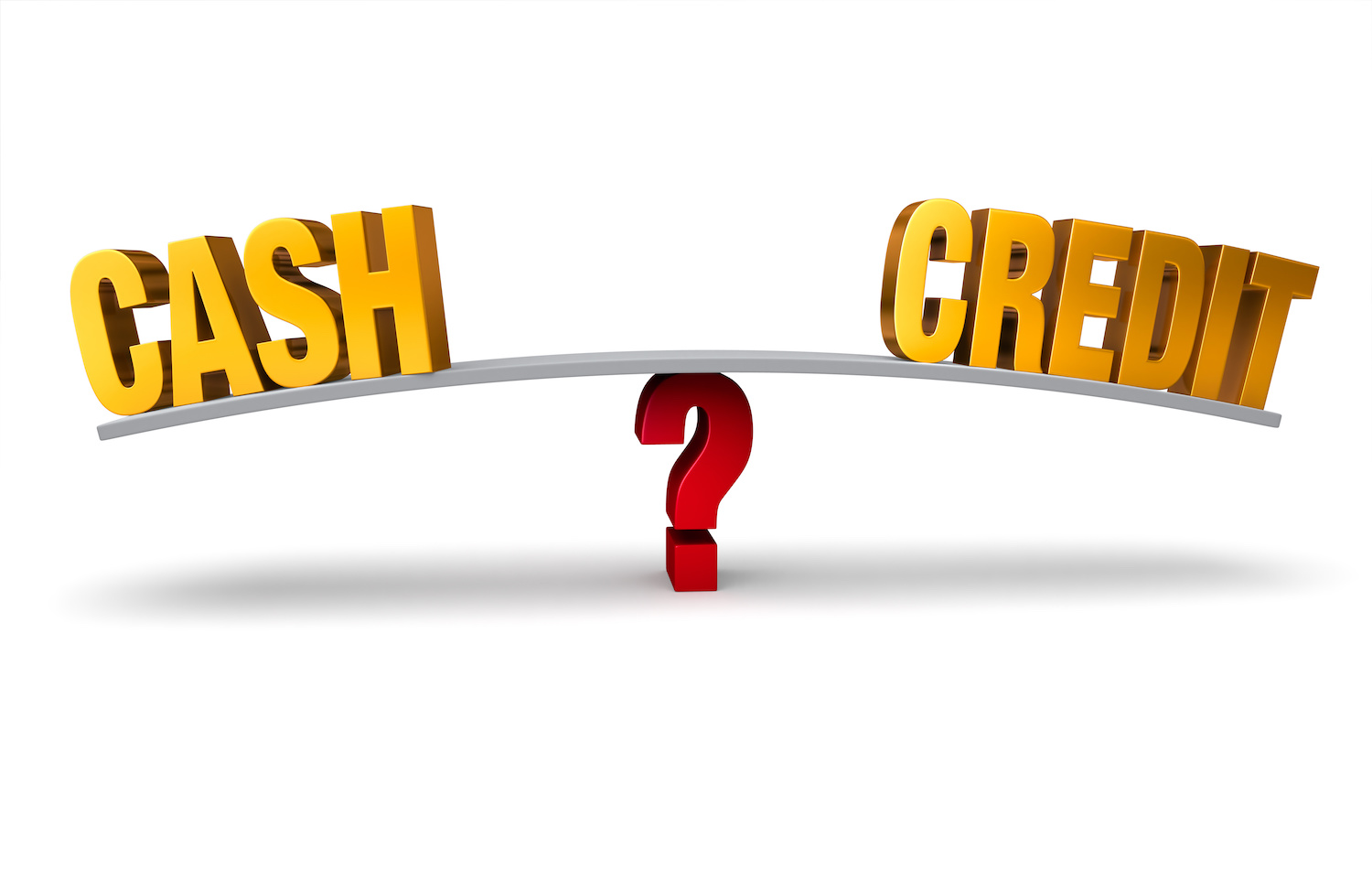 credit card vs paying cash We've uncovered the truth about credit card debt  you've told yourself paying online with a credit card is safer,  the truth about cash vs credit cards.