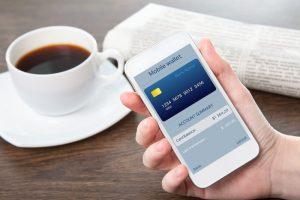 mobile wallet smartphone
