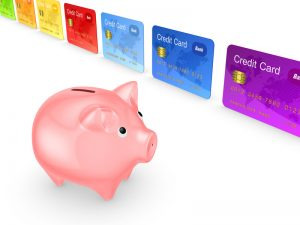 piggy bank with balance transfer credit cards