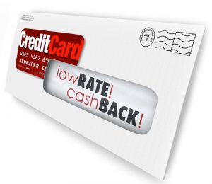 promo credit card mail