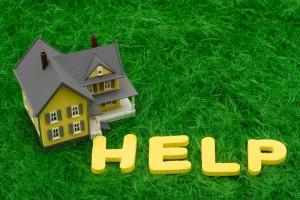 toy house help sign