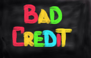 bad credit chalk