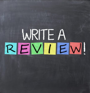 Write a review text on blackboard