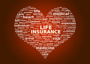 life insurance heart red