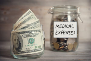 medical expenses savings jars