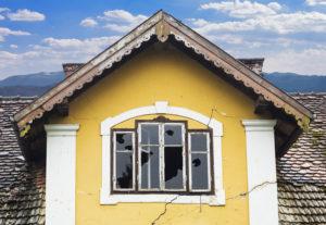 old home disrepair vandal