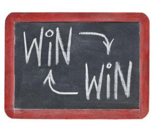 win win chalkboard