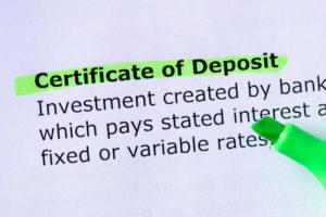 certificate-of-deposit
